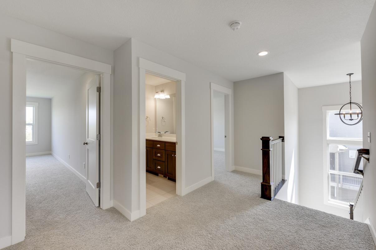 custom home built by greenwood